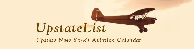 UpstateList: Upstate New York's Aviation Calendar